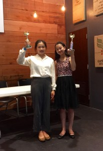 2nd place at the SLAM 2016 debate tournament went to Jennifer and Emma.