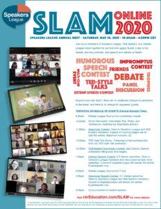 SLAM flyer